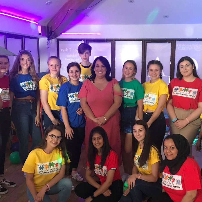 photo of members at NCS event at Sensory World Play Centre